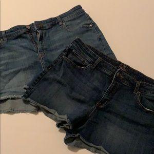 GAP ‼️BUNDLE ‼️denim shorts.